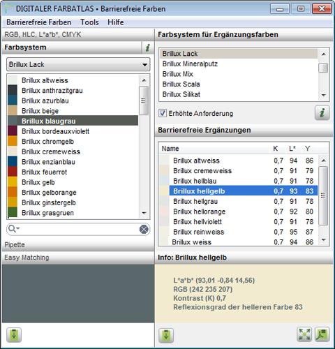 Digitaler farbatlas 5 0 barrierefreie farben - Comment faire une brochure avec open office ...